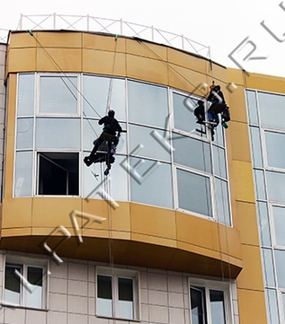 Промышленный альпинизм фирмы москвы