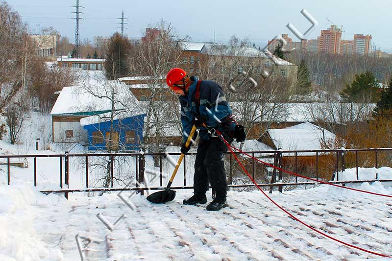 Инструкция по охране труда чистка крыш от снега